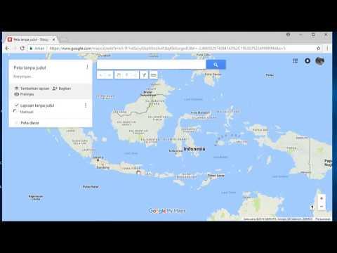 Setting Google Earth, Kordinat UTM dan Bahasa Indonesia..