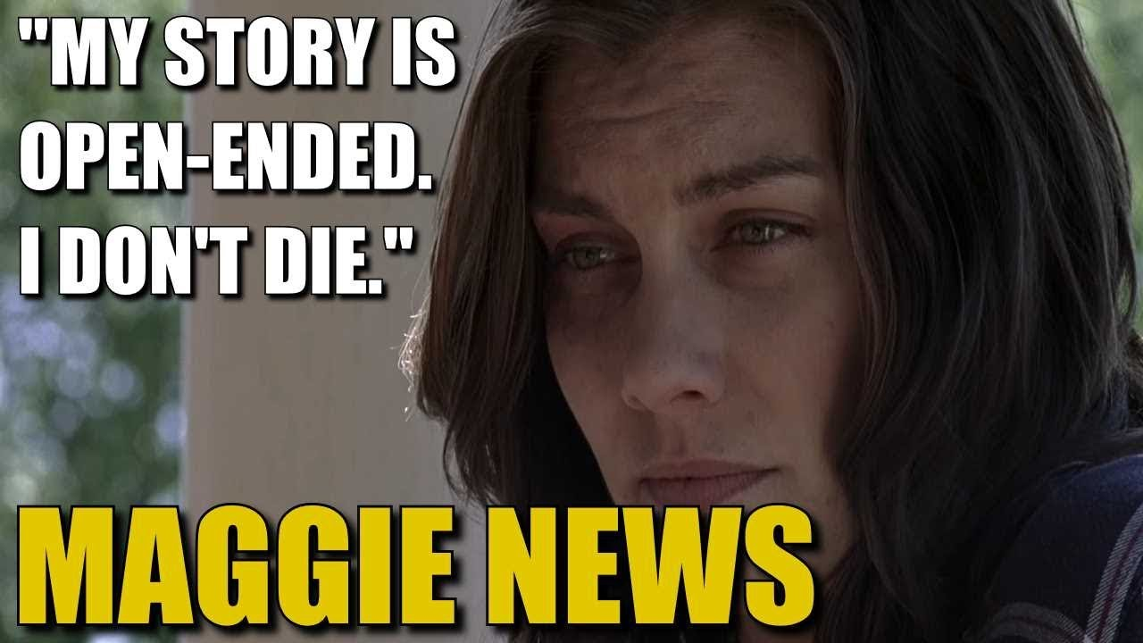 The Walking Dead Season 9 Maggie News Theory Maggies Story Is Open Ended