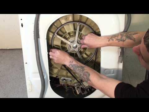 replacing belt on washing machine
