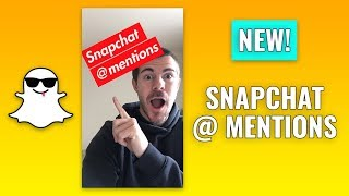 How to Use Snapchat @ Mentions