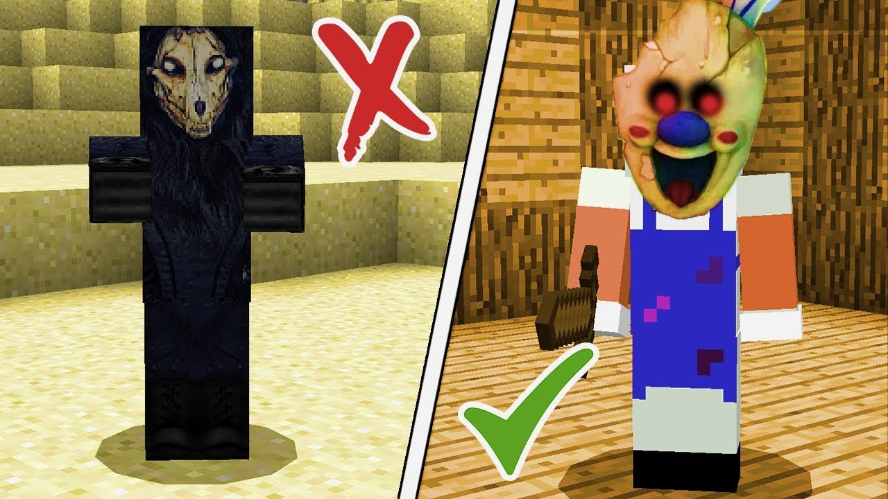 Minecraft Scp Foundation Vs Ice Scream Man Experiments On The