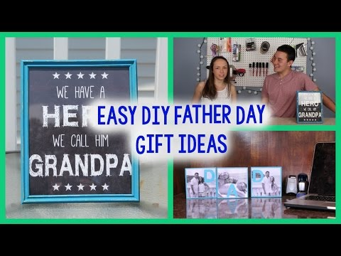 DIY Fathers Day Gift Ideas | EASY + CHEAP CRAFTS | PINTEREST INSPIRED
