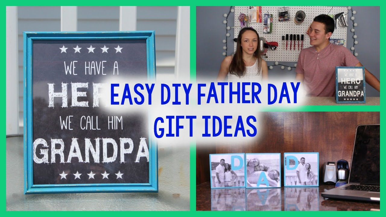 DIY Fathers Day Gift Ideas | EASY + CHEAP CRAFTS | PINTEREST ...