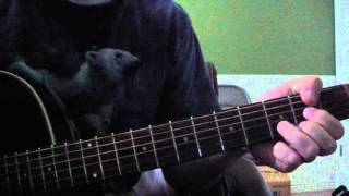 How to Play - She Don't Want Nobody Near Tutorial (Counting Crows)