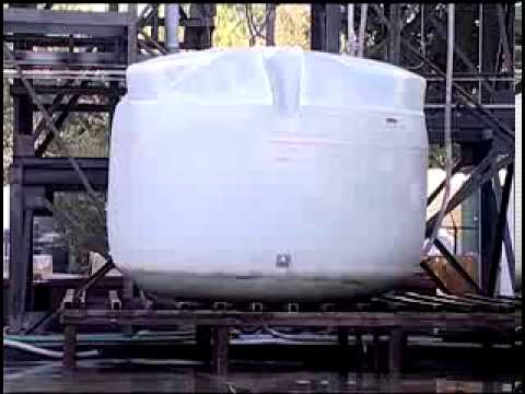 Polyethylene Tanks Under Pressure