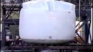 Polyethylene Tanks Under Pressure