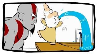 Kratos no Buteco dos Deuses
