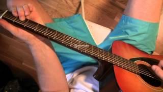 видео разбор песен под гитару - вальс бостон