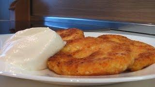 Творожники с морковью видео рецепт. Книга о вкусной и здоровой пище
