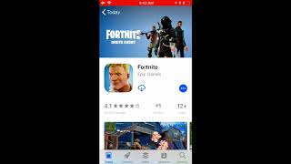 How to download Fortnite Mobile on IOS 11
