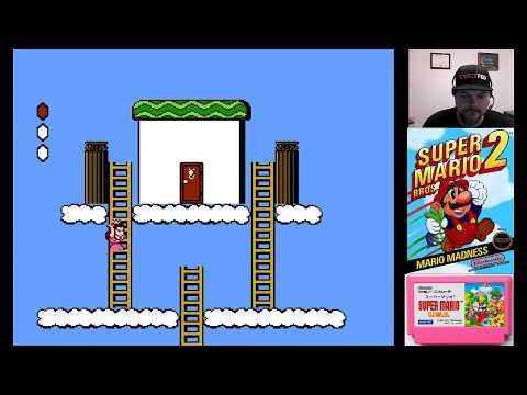 Super Mario Bros. 2 World 7 - VGHI Play 'n' Chat Live Stream