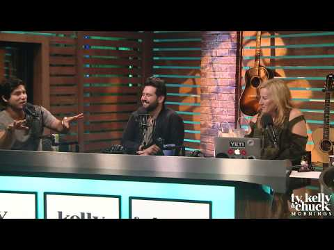 Dan + Shay On Working With Kelly Clarkson AND Dan Gives Shay The Biggest Compliment