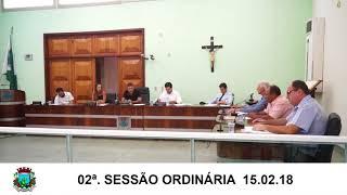 15.02.18 Sessão da Câmara