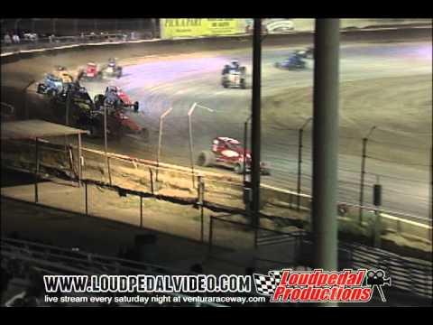 Victorville Raceway Park 8-6-11 - Open Sprint Cars