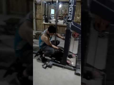 Gym training time click video sorry for uploading