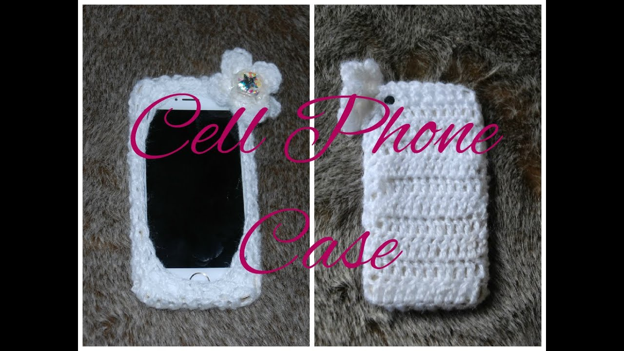 Diy Iphone Case Learn How To Crochet Easy Cell Phone Tablet Case