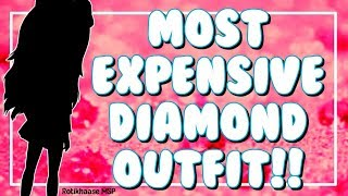 Most Expensive Diamond Outfit On MSP! *BUYING*