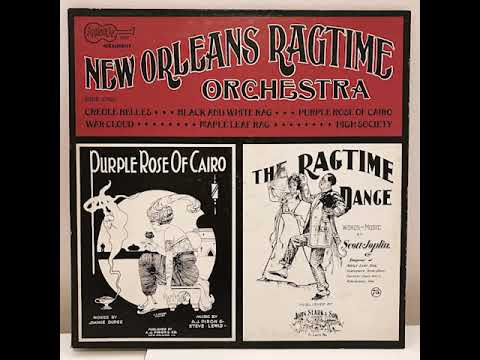 New Orleans Ragtime Orchestra Arhoolie Records 1058 Full Album Vinyl