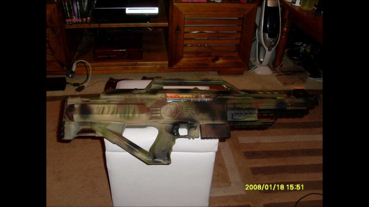 My Mod Nerf Stampede Custom Camo Paint Job Deadly Tack