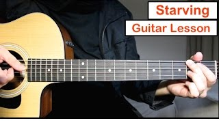 Starving - Hailee Steinfield | Guitar Lesson (Tutorial) EASY Chords