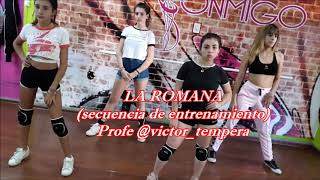 La Romana, Bad Bunny ft El Alfa. Coreografía Víctor Témpera