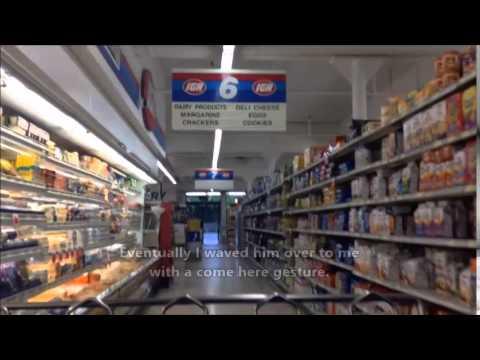 Tour: Sids Grocery Store IGA; Weird Employees Here; Long Beach, WA
