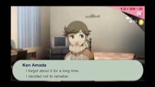 [Persona 3 Portable] Maxing Justice Social Link / Rank 10 Lovers (Translation attempt)