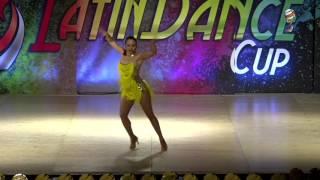 Estefania Ortiz, Mexico, Salsa Soloist Amateur Lady, Final 2nd Place, WLDC 2016