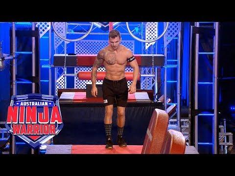 Ninja run: Shane Rogers | Australian Ninja Warrior 2018