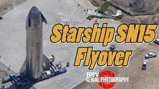 SpaceX Starship SN15 & Starbase Tx Flyover (May 07, 2021)