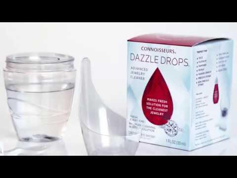 Connoisseurs Dazzle Drops Advanced Jewellery Cleaner