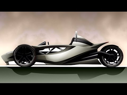 Radical three wheel design to replicate the adrenaline rush of riding a ...