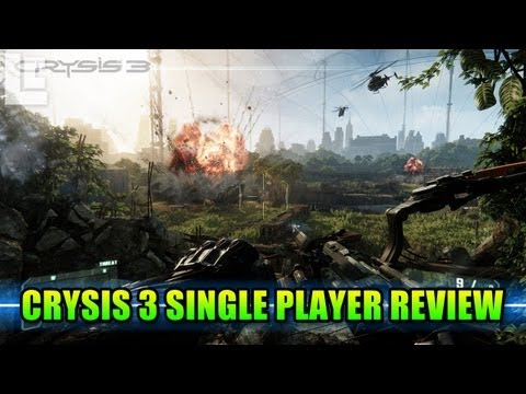 Crysis 3 Single Player Review (Crysis 3 Gameplay/Commentary/Campaign)