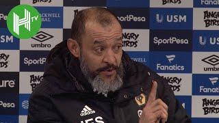 Everton 1-3 Wolves | Santo 'proud' of Wolves performances