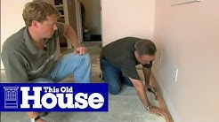 How to Install Wall-To-Wall Carpeting | This Old House