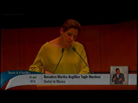 Reservas al dictamen de Ley General de Comunicación Social, presentadas por la senadora Tagle