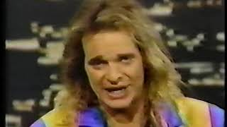 David lee roth appears on cbs news` night watch program in 1984. this is from a 1st generation vhs.if you have live concert recordings that are need of t...