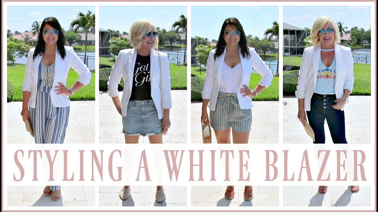 White Blazer Lookbook & Haul | Budget Friendly Summer Fashion Trends 2019 for Women over 35