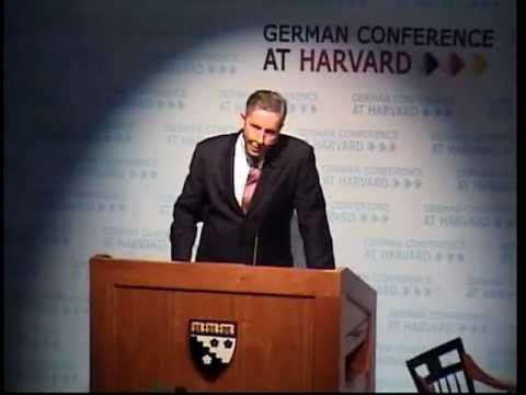 Klaus Kleinfeld Keynote @ German Conference at Harvard 2012