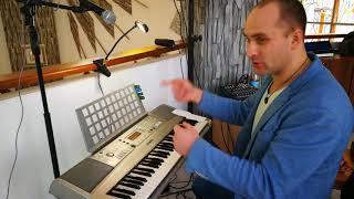 Урок 2 Пианино без нот. Импровизация с нуля. Игра по черным клавишам.