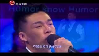 星光大道年度总冠军杨帆现场版《天高地厚》,唱出完全不同的风采