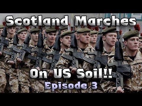 The Scottish/American War! History's Greatest Battle - Civilization VI Rise and Fall