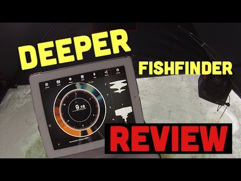 Deeper Smart Fish Finder - Ice Fishing Review
