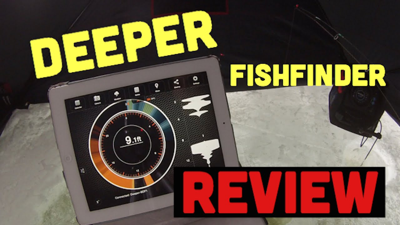 deeper smart fish finder - ice fishing review - youtube, Fish Finder
