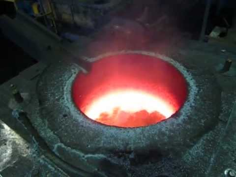 Induction Furnace for Aluminum Melting