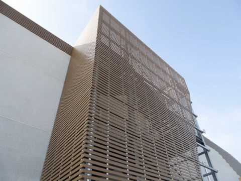 Plastic Wood Exterior Wall Panels In Ireland Youtube