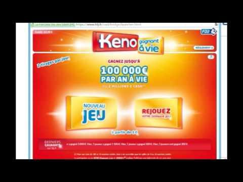 methode mathematique pour gagner au keno