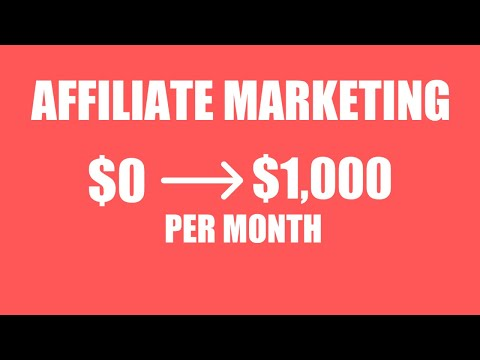 How to Start Affiliate Marketing For Beginners in 2021