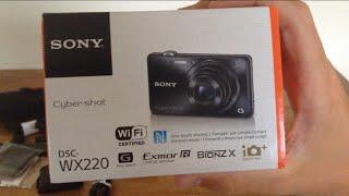 Sony Cyber-shot DSC-WX220 Unboxing