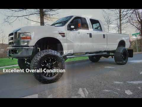 2008 Ford F-350 Lariat 4x4 10 FABTECH Lift 20 FUEL 40 NITTO Manual for sale in Milwaukie, OR